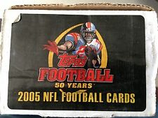 2005 Topps Football Complete 440 Card 50th Golden Anniversary set with Inserts