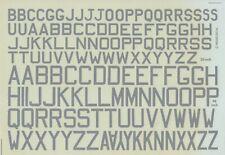 "MODELDECAL 1/72 British WWII Medium Sea Grey 30"" and 48"" code letters (RAF/RN)"