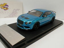 Almost Real 430403-Bentley Continental gt3-r Bj. 2015 Kingfisher-Chine 1:43