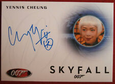 JAMES BOND - SKYFALL - YENNIS CHEUNG as Casino Cashier - Autograph Card A247