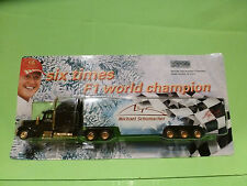 MICHAEL SCHUMACHER AMERICAN WINTER TRUCK - RARE 1:66? - NEAR MINT+CARD BLISTER