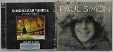 Simon & Garfunkel : Old Friends Live on Stage & Paul Simon - Ultimate CDs