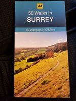 **NEW PB** AA 50 Walks in Surrey (2017) - Buy 2 Books & SAVE