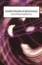Modern Theories of Performance: From Stanislavski to Boal, Good Condition Book,