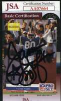 James Lofton 1992 Pro Set Jsa Coa Hand Signed Authentic Autograph