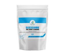 360 x Glucosamina MSM Manganese VITAMINA C compresse ad alta resistenza da parte del primo segni vitali