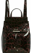 BRAND NEW GUESS Shiny Leopard Print Gold Backpack Satchel Handbag Purse