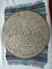 "15 1/2"" Regina Music Box Metal Disc I An Ethiopian Mardi Gras March 1831"