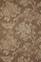 Damask Fabric Floral Neutral Tones Antique French Art Nouveau upholstery weight