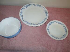 CORELLE CORNFLOWER BLUE 12 PIECE SET DINNER/DESSERT AND SOUP