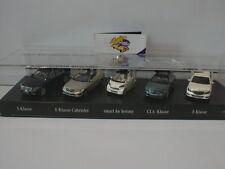 Minichamps MB2013 # Faszination Mercedes ... 5er Set 1:43 Lim.Ed. 350 pcs.  RAR
