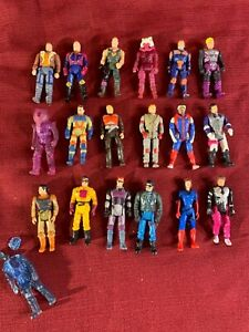 1985 M.A.S.K. KENNER FIGURE LOT OF 18 + EXTRA - LOOK CLOSE SOME HTF