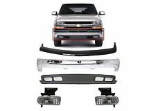 Replacement Front Bumper Combo 1999-2002 Silverado 2000-2006 Suburban/Tahoe New