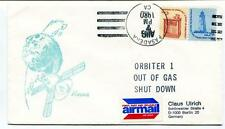 1980 Viking Orbiter 1 Ou Gas Shut Down Airmail Pasadena SPACE NASA USA SAT