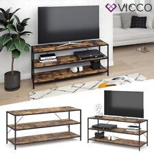 VICCO Loft Fernsehtisch Fyrk TV Lowboard Schrank Board Holz Regal 120x53x40 cm
