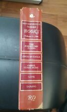 Readers Digest Condensed Books 1968 -  4 Season Volumes