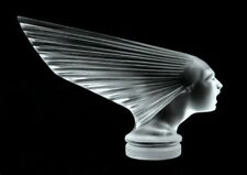 • Art Deco Glass Car Mascot 'Victoire' Hood Ornament Figurine 1930' H.Hoffmann •