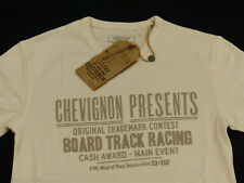 NEU*CHARLES CHEVIGNON CASUAL T SHIRT*BOARD TRACK RACING*WEISS*LEGEND 57*GR S*NEU
