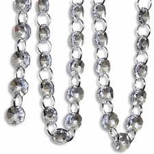 33 FT Crystal Clear Acrylic Bead Garland Chandelier Hanging wedding supplies