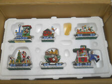 Danbury Mint Mickey's Christmas Train-Disney-Complete-Original Box & Styrofoam