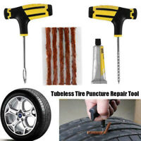Car Tubeless Tire Reifenpannenset Reparatursatz Nadel Fix Tools Erste Patch 2020
