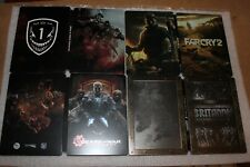 4 STEELBOOK LOT Far Cry 2, Britannia, Gears of War Judgment, Medal of Honor NEW!
