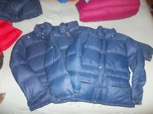 The North Face Sierra Brown Label Goose Down Jacket XXS OR SM Vintage Nuptse USA