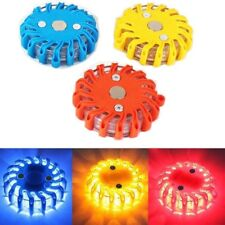 3x Rechargeable SOS LED Safety Road Flare Flashing Warning Light Emergency Disc