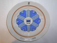 Olympic Games ESTONIA NOC EOK Porcelain PLATE Kasipall Handball II 2nd place