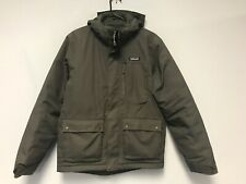 Patagonia Men Topley Down Jacket Parka Coat Gray Size S