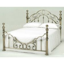 Harmony Classic Antique Florence 4ft6 Double Brass Metal Bed