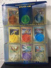 Pokemon Japanese Neo Genesis Series 3 Promo 9 Card Set Binder Folder *READ LOOK*