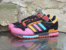 2007 Adidas ZX 600 UK8 / US8.5 Black Pink Orange Blue Rare Originals Vintage