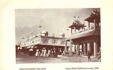 indo - chinese palace ( with people ) -  franco - british exhibition london 1908