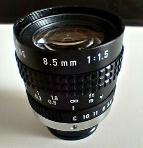Pentax TV Lens C-Mount Objektiv 8.5mm f= 1:1:5