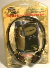 GPS Rugged Sports AM/FM Personal Cassette Player Sealed New old stock #C3303RS