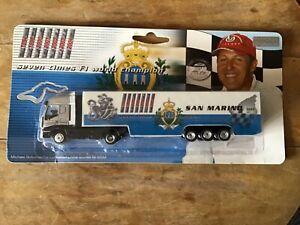 1/87 SCALE MICHAEL SCHUMACHER COLLECTION F1 2005 SAN MARINO GP TRUCK