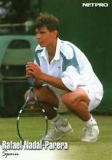 5) RAFAEL NADAL-PARERA  2003 NetPro Rookie Card #70 Tennis RC LOT