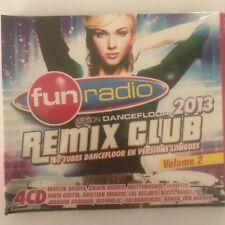 Fun radio remix club 2013 volume 2 4 cd neuf sous blister