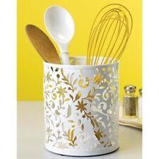 Design Ideas Vinea Utensil Cup, White , New, Free Shipping