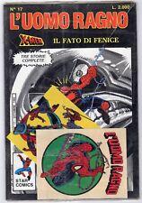fumetto L'UOMO RAGNO STAR COMICS MARVEL numero 17  BLISTERATO CON ADESIVI