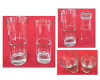 VINTAGE Libbey Drinking Glass Tumblers ENDEAVOR Pattern Set of 2 U.S.A.