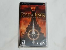 NEW The Lord of the Rings Tactics Sony PSP Game SEALED (READ) LOTR US NTSC