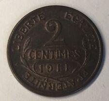 M247 : 2 Céntimos Dupuis 1911 Ver Fotos Contractual