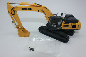 Conrad 2210 01 Kobelco SK500LC-10 Crawler Excavator Yellow New+ Boxed 1:50