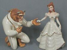 New Lenox Disney Beauty & Beast My Hand My Heart Is Yours Figurines Free Gift