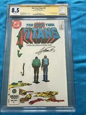New Teen Titans #39 - DC - CGC SS 8.5 - Signed by George Perez