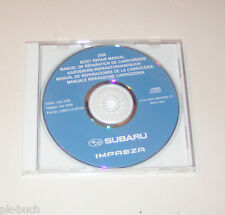 Werkstatthandbuch auf CD Karosseriereparatur Subaru Impreza - Modelljahr 2009!