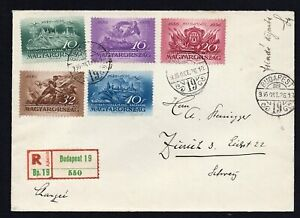 Hungary 1936-50 cover, FDS 1lot