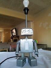 Vintage, Retro, Mid-Century, Sci-Fi, Robot Lamp, Desk Light, Twilight Zone, 60's